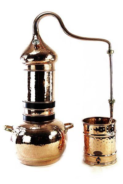 Alambique de columna 10 L con termómetro  -  CopperGarden®