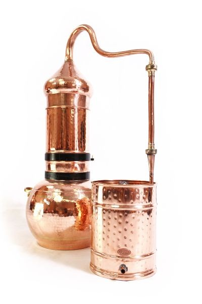 CopperGarden®  column still 20 L & thermometer