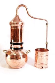 """Alambic 30 L à colonne avec thermomètre - """"CopperGarden®"""""""