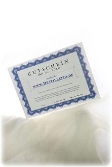 Destillatio Gutschein über 250.- Euro