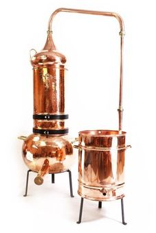 """CopperGarden®"" column still 75L with thermometer"