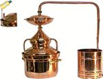 """CopperGarden®"" Pot Still Hydro 10 liters & thermometer"