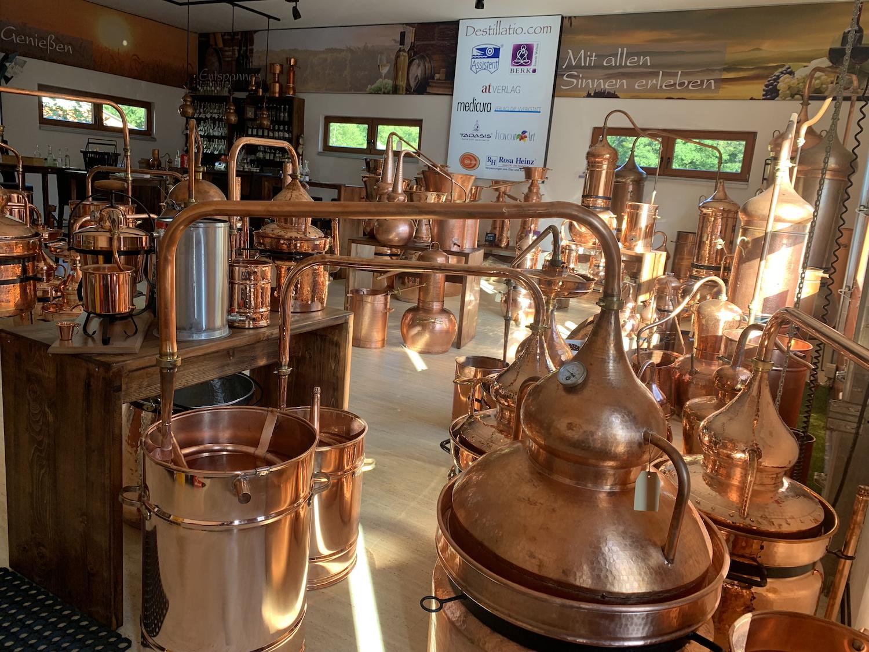 CopperGarden®  Pot Still Destille HYDRO, 20L & Thermometer