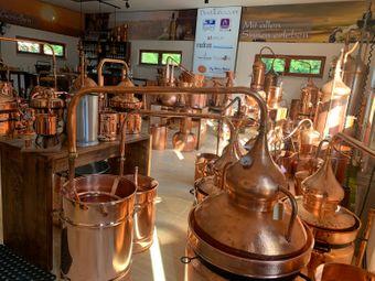 """""""CopperGarden®"""" Pot Still HYDRO, 20L & thermometer"""