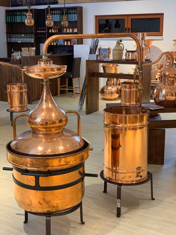 CopperGarden®  Destille  Hydro  100 Liter mit Al-Ambik® Destillierthermometer