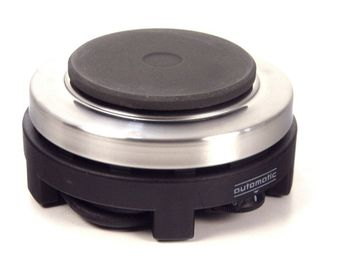 """Rommelsbacher"" travel hot plate (8 cm) - variabel temperature regulation"