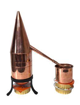 """""""CopperGarden"""" Destille HENNIN 0,5 Liter - Rosenhutdestille mit Zubehör"""