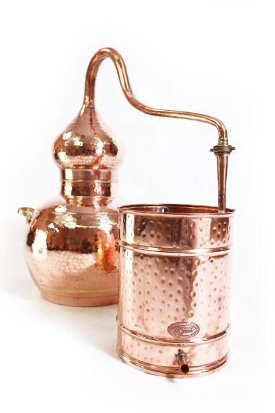CopperGarden®  Alembic still 40L, welded