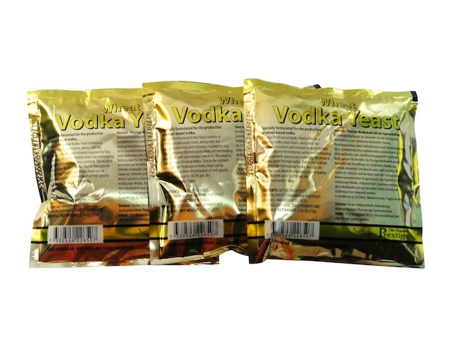 3x  Prestige  Turbo Yeast  Vodka