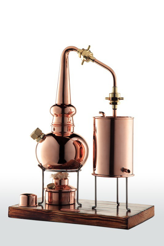 CopperGarden®  2L Whiskey distillation apparatus