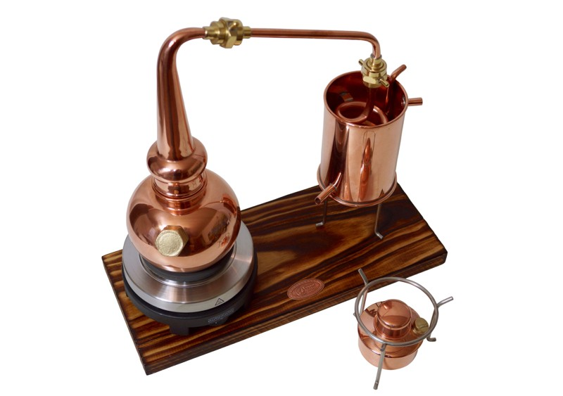 CopperGarden®  Whiskey still 0.5L Supreme electric 500W
