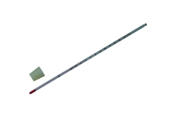 Kit: Thermomètre 30 cm  avec bouchon en silicone