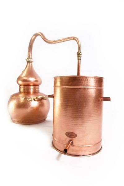 CopperGarden® still Alembic lifetime Supreme, 30L & thermometer
