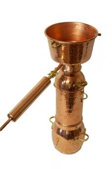 """CopperGarden® Alquitara """"Plus"""" 3 L- for essential oils"""