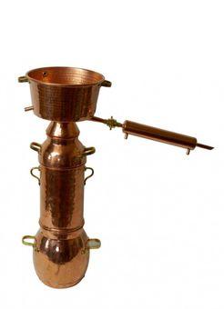 CopperGarden® Alquitara Plus ❀ 10 Liter ❀ Destille für ätherische Öle