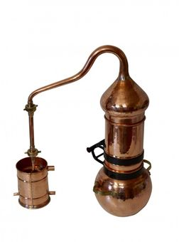 """CopperGarden®"" Destille Kolonnenbrennerei ❀ 2 Liter"
