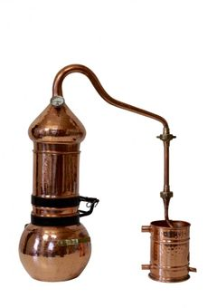 """""""CopperGarden®"""" column still 2 litres with """"Al-Ambik®"""" thermometer"""