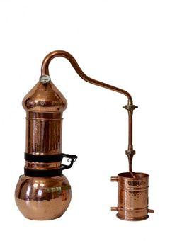 """""""CopperGarden®"""" Kolonnenbrennerei 2 Liter ❁ mit Thermometer"""