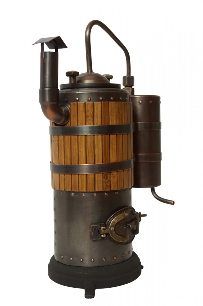 "Distilling unit ""Odessa"" 0.5 L for use with dry fuel"