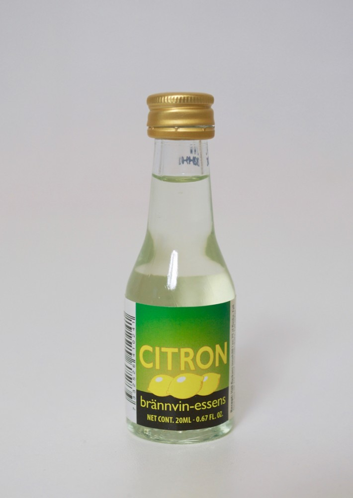 Prestige  Citron/Lemon Essence - 20 ml for 0.75 L of schnapps with lemon balm aroma