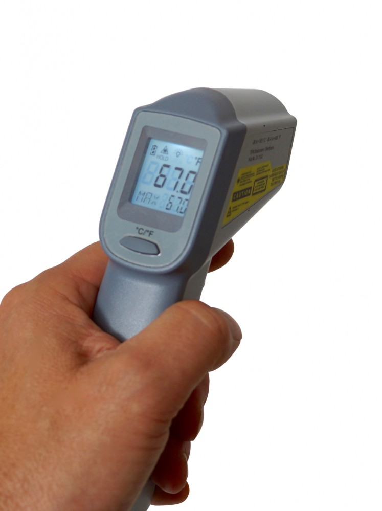 "NEW!  TFA  Infrared Thermometer ""Beam"" with laser aiming (-38° to +365°C)"