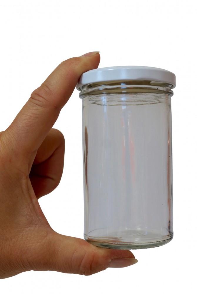 Einmachglas mit weitem Hals, 277 ml mit Deckel