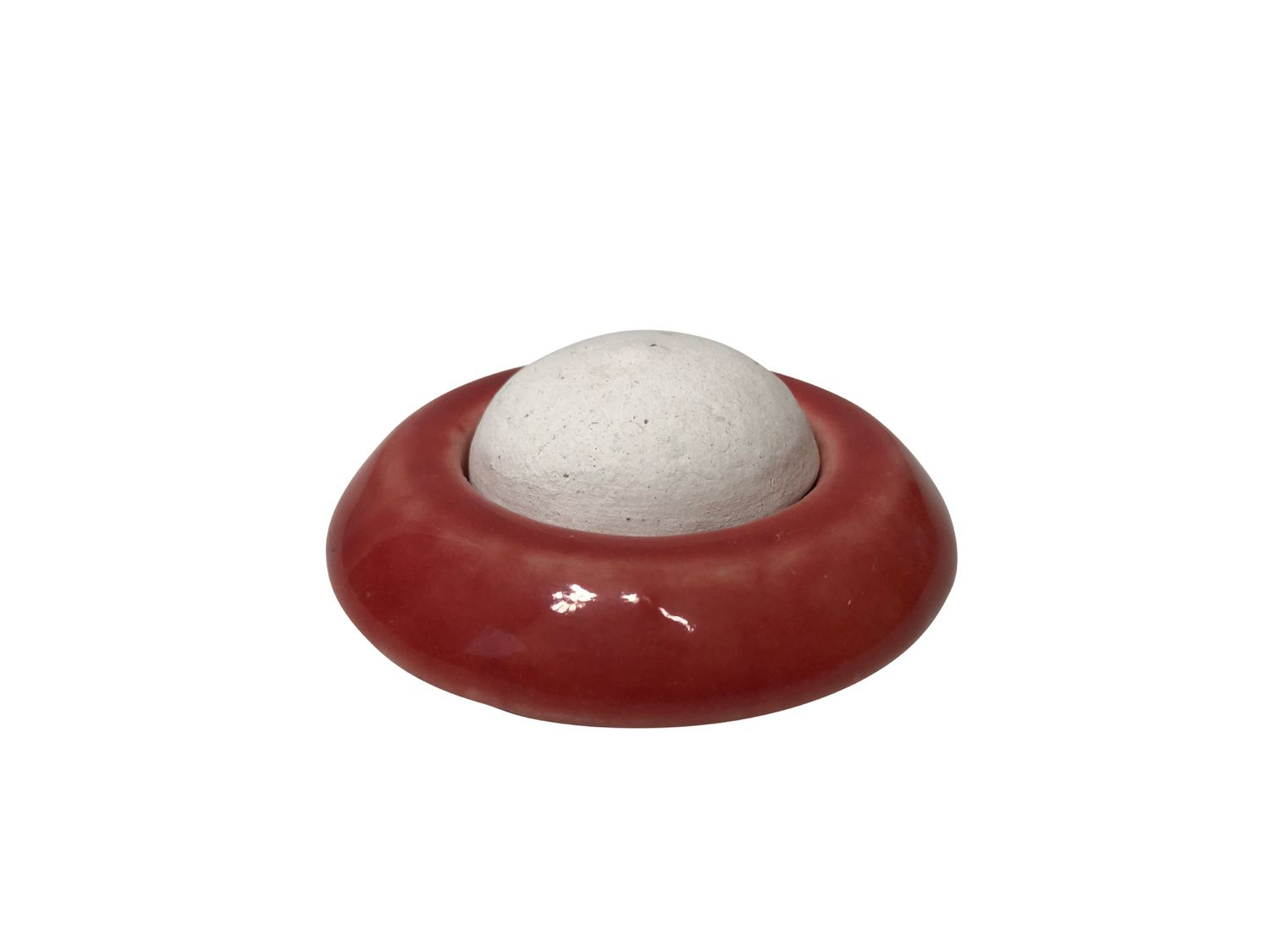 Ceramic Scent Stone (Red) for essential oils