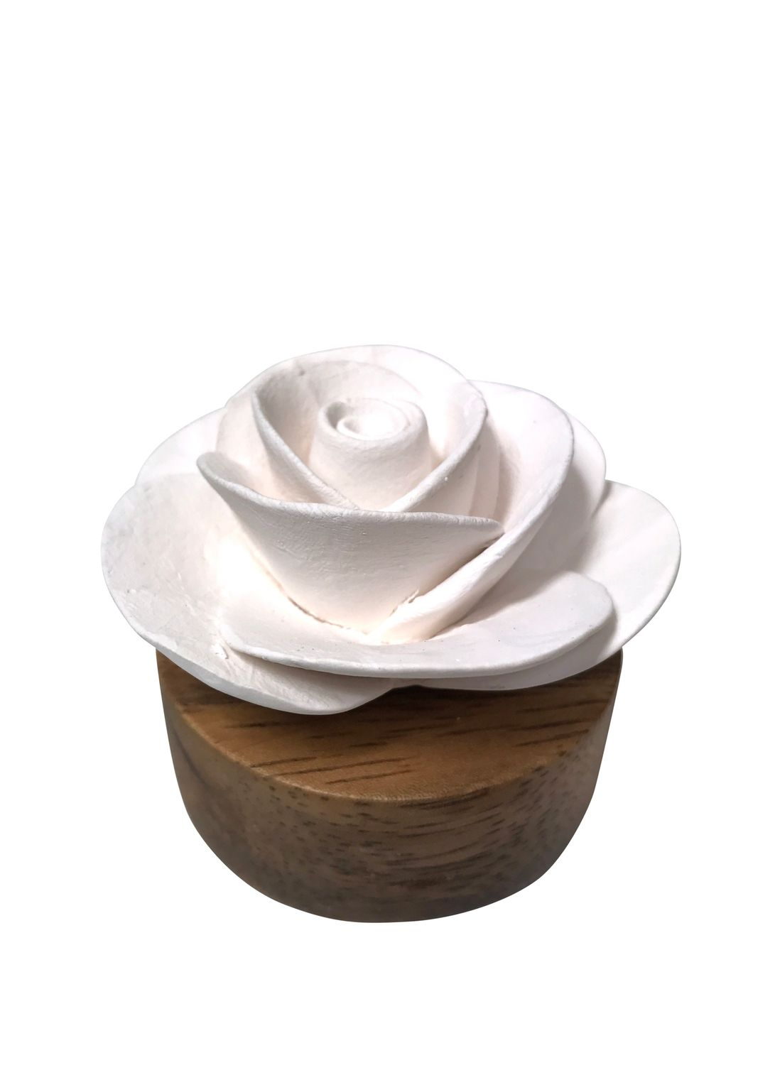 Rose-Shaped Aroma Stone (Ceramic)
