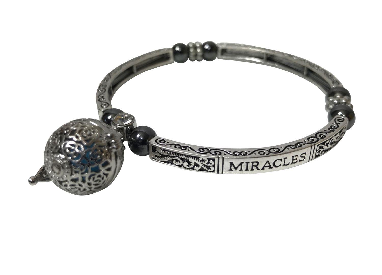 Bracelet  MIRACLE  avec boule de parfum et aimants