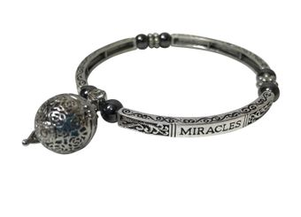 "Bracelet ""MIRACLES"" with magnets and fragrance pendant"