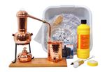 CopperGarden® Table-top still Arabia 0.5 L & Water pump accessory set