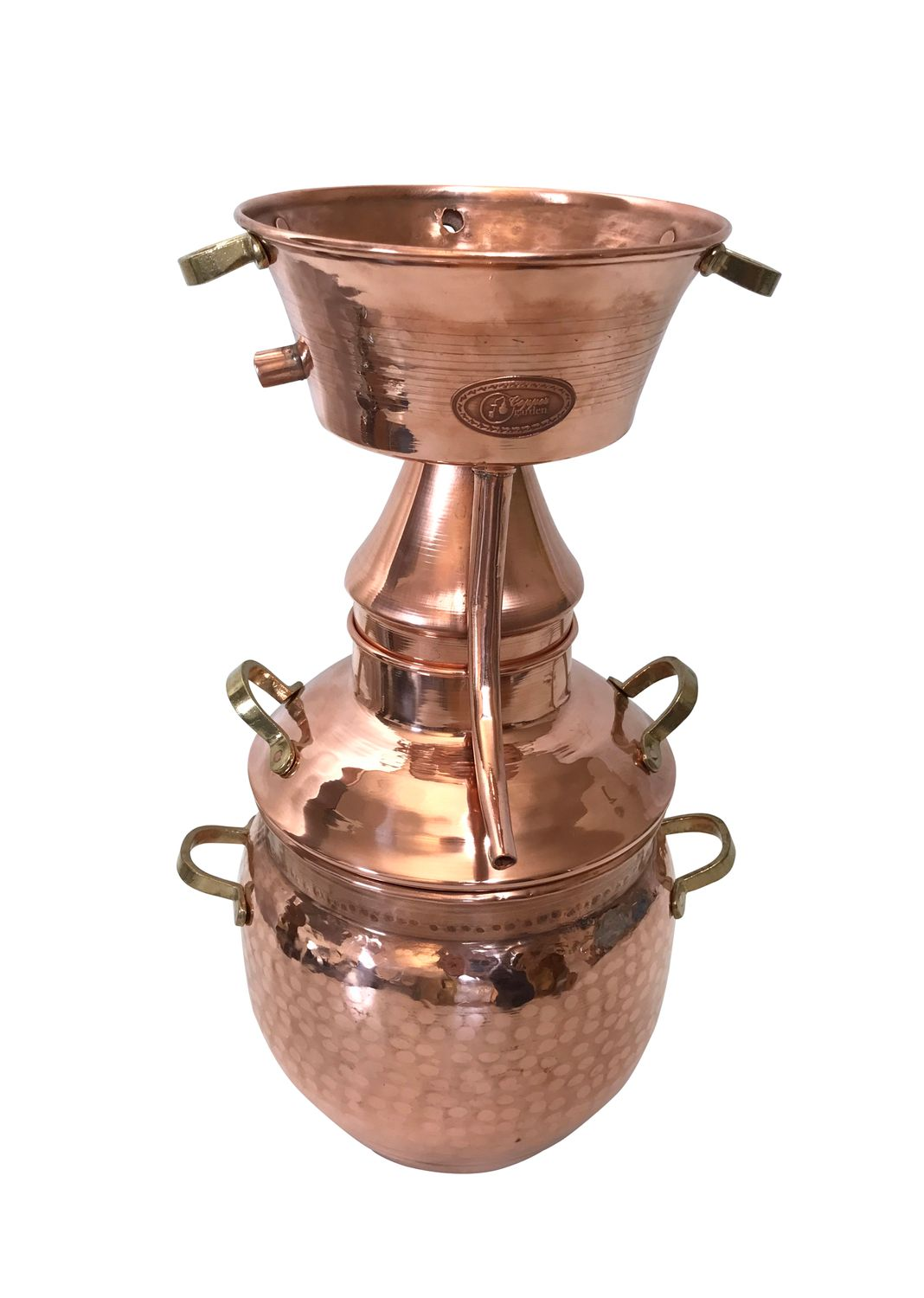 CopperGarden®   Alquitara  still 3 litres for hydrosols
