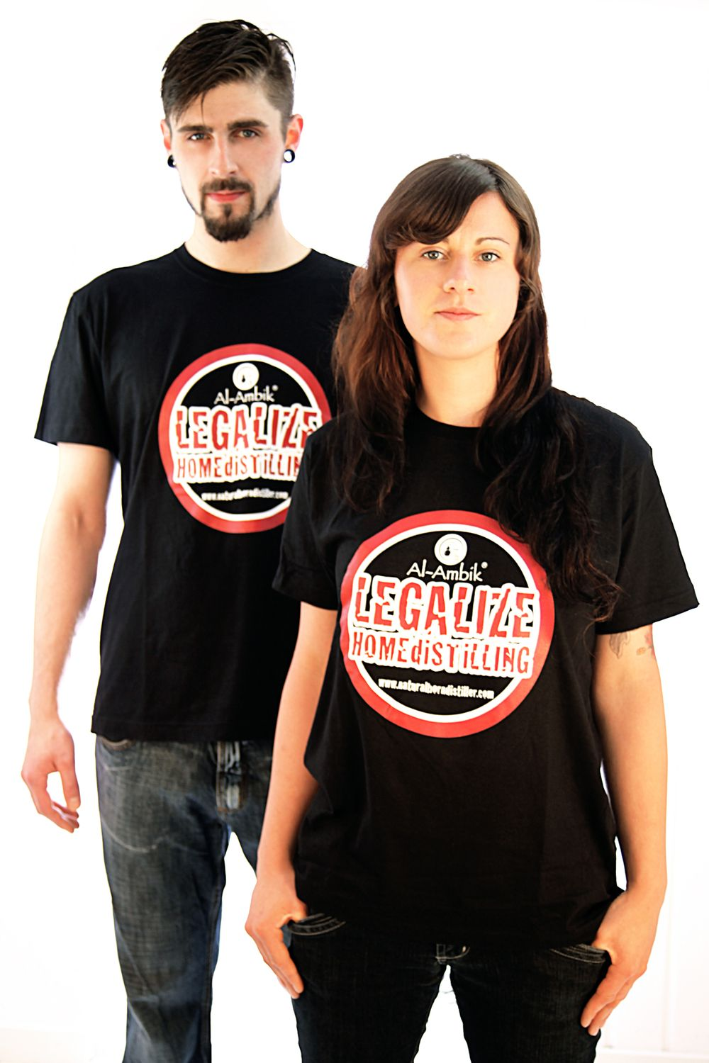 T-Shirt ❀ Legalize Home Distilling ❀ alle Größen