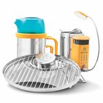 """BioLite"" CampStove2 Bundle with grill, light & kettle"