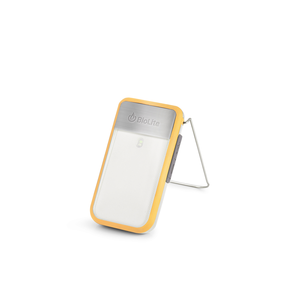 BioLite  - PowerLight Mini - orange, ingenious battery light, rechargeable