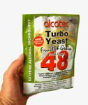 ALCOTEC Turbo Yeast 48H ❁ Special Fruit & Grain ❁ 14% in 36 hours ❁ 20% in 4 days
