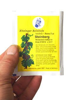 """""""Arauner"""" Trockenhefe Steinberg 5 Gramm = ausreichend für bis zu 50 Liter"""