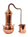 """CopperGarden®"" Destille ""Essence"" ❀ 2 Liter mit Kolonne"
