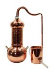 """CopperGarden"" Destille ""ESSENCE PLUS"" 2 Liter Kolonnenbrennerei mit Thermometer"
