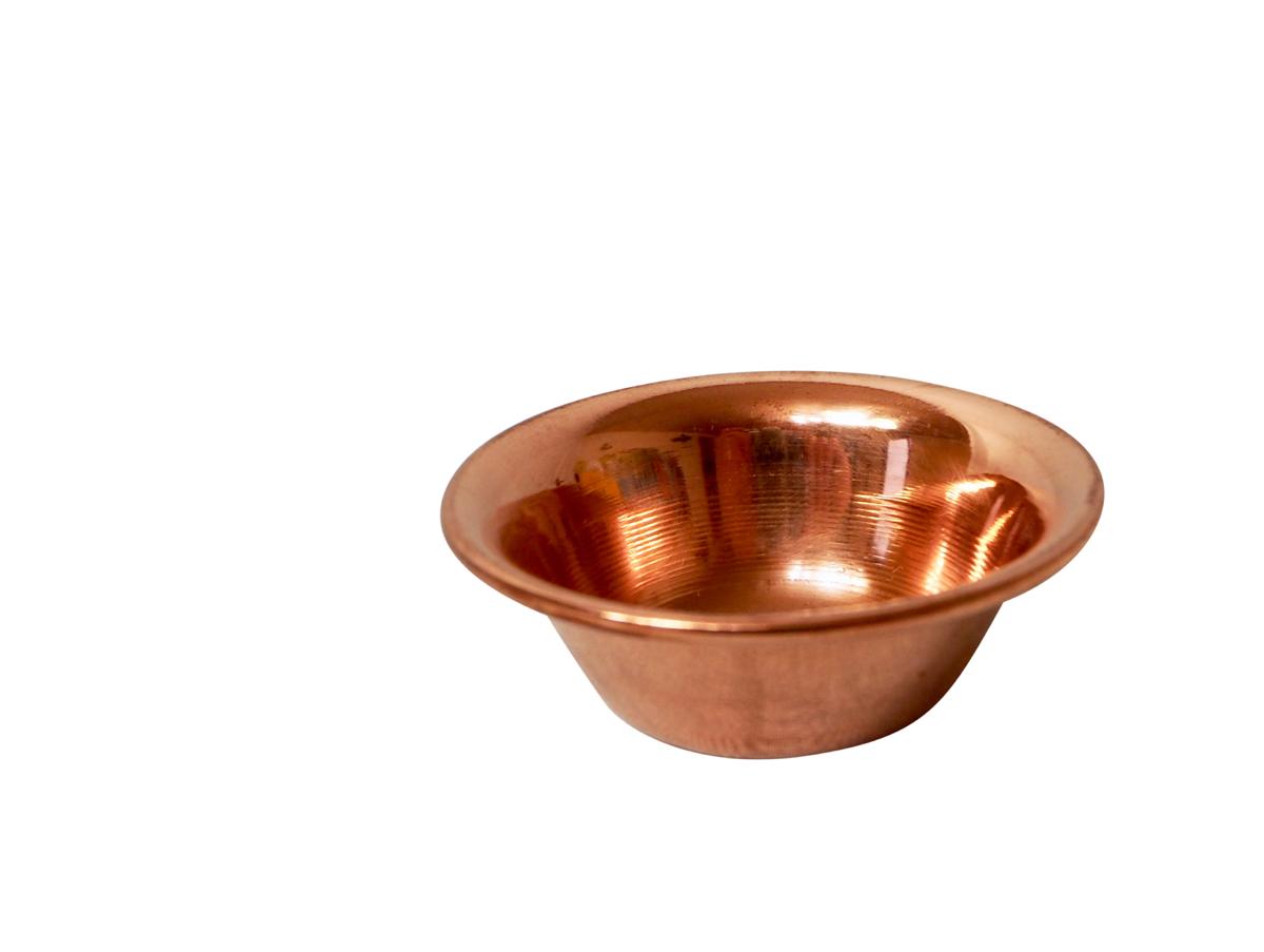 Kupferschale ❀ nur 9,2 cm Durchmesser ❀ vielseitig verwendbar ❀ rühren /& wärmen