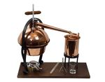 """FERRARI®"" Dispositif de distillation ""Hobby Special"" ❁ Alambic de table 2 litres"