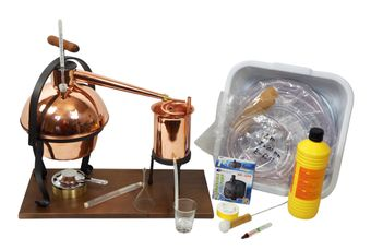 FERRARI Destillieranlage HOBBY - 2 Liter - Tischdestille im Sorgenfrei Paket mit allem Zubehör