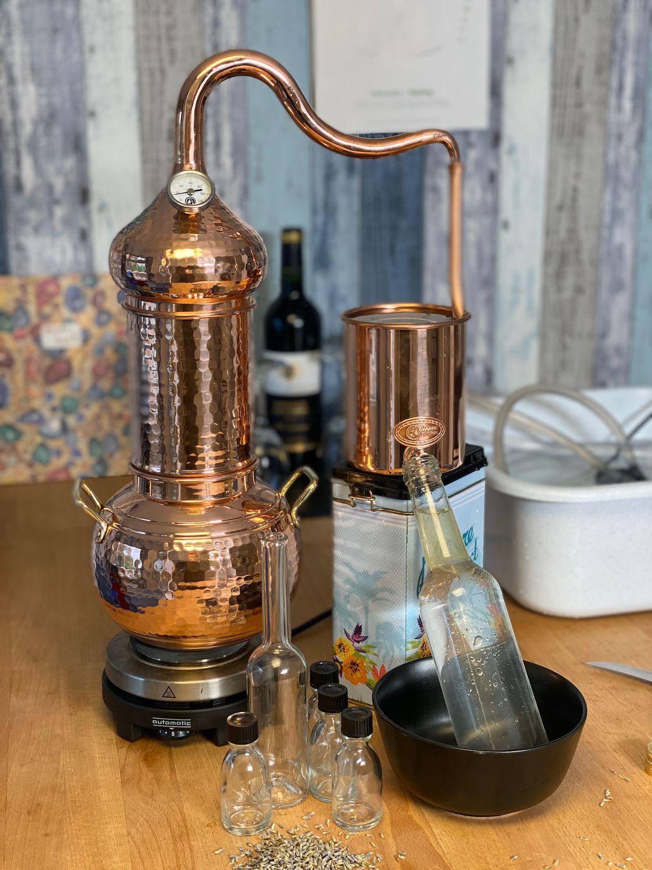 """/""""CopperGarden®/"""" Destille /""""Essence plus/"""" 2 Liter ❁ /""""Sorgenfrei/"""" Vollausstattung"""