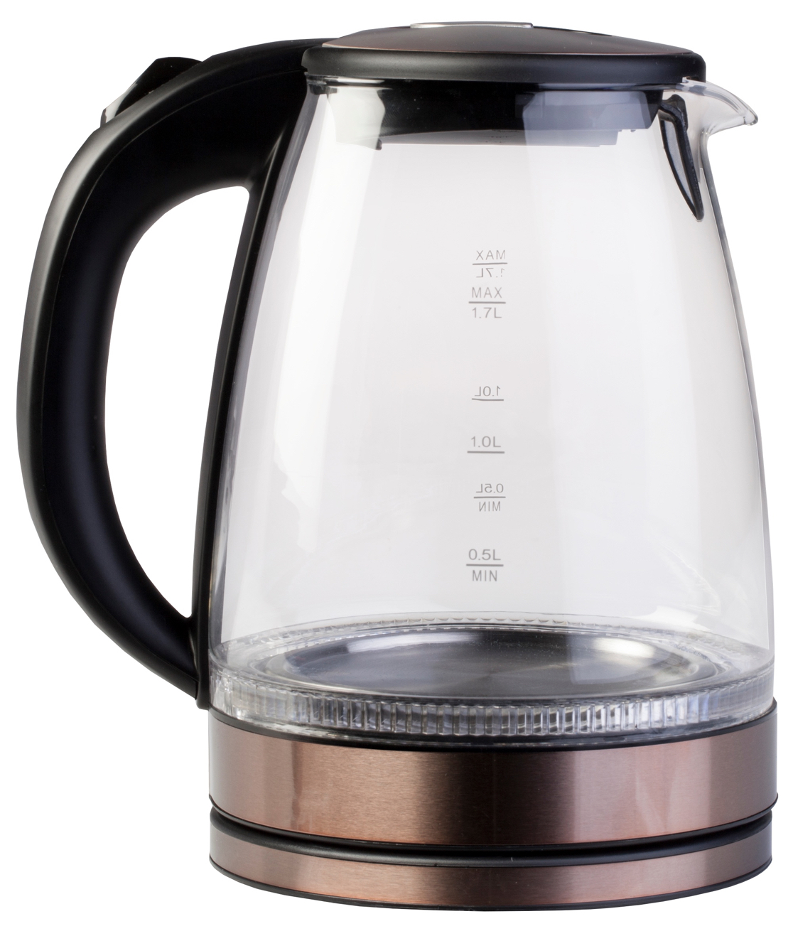 Ardes  electric water kettle  Ketty  1.7 Litres ❁ glass/stainless steel