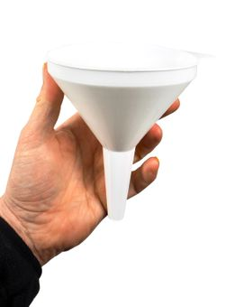 Funnel 12 cm - white