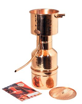 """Nouveau: """"CopperGarden®"""" Alambic LEONARDO® classique 2 litres ❁ Selon Helge Schmickl"""