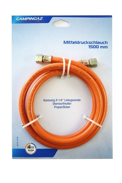 Gas Hose R1/4 for  propane & butane; 1,5 m