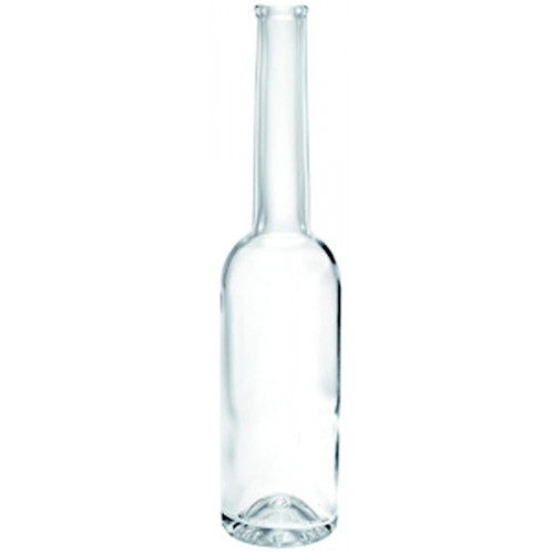 Clear 100 ml bottle without screw cap