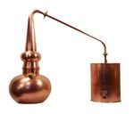 """CopperGarden®"" 10 L Whiskey distillation apparatus with thermometer"