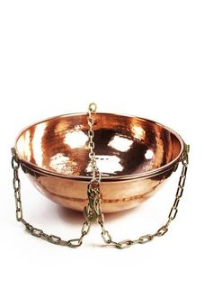 """""""CopperGarden®"""" Kupferschale, 10 L, zum Aufhängen"""